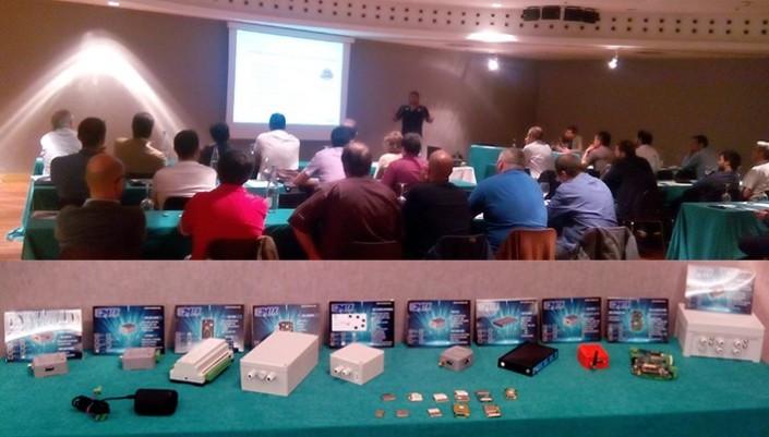 Seminario Barcelona 2015 Gemalto y MTX-M2M