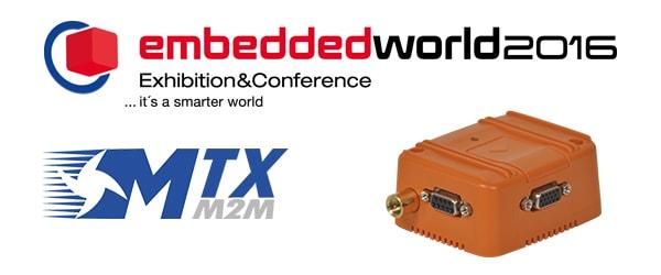 Embedded 2016 Nuremberg MTXM2M