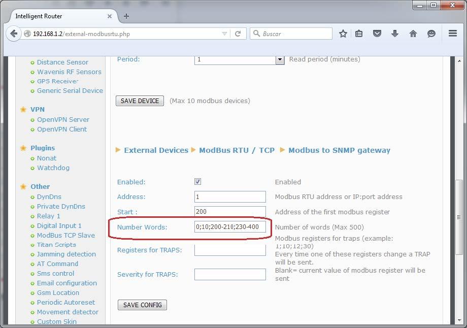 Titan – AN8: Implementing a Modbus RTU/TCP – SNMP Gateway